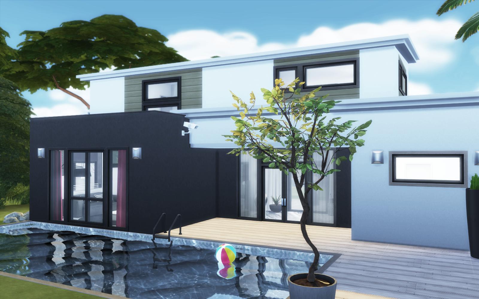Villa Edincourt Sims 4 Cc