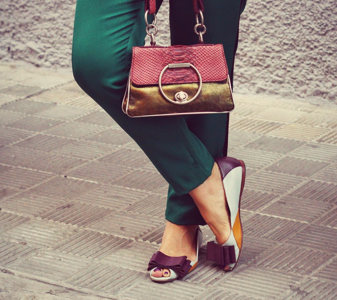 bow+flats+shoes