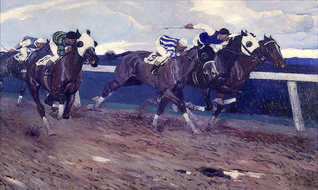 Harold von Schmidt, horse race