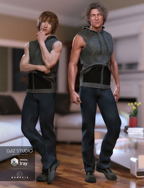 Street Cred Outfit for Genesis 3 Male