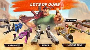 Download Guns Of Boom Online Shooter MOD APK v2.7.3 Anti Ban Update Terbaru Full HACK 2017