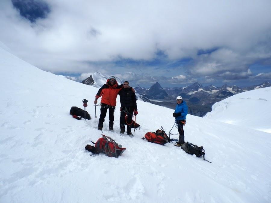 Parrotspitze-monte-Rosa-Alpes-