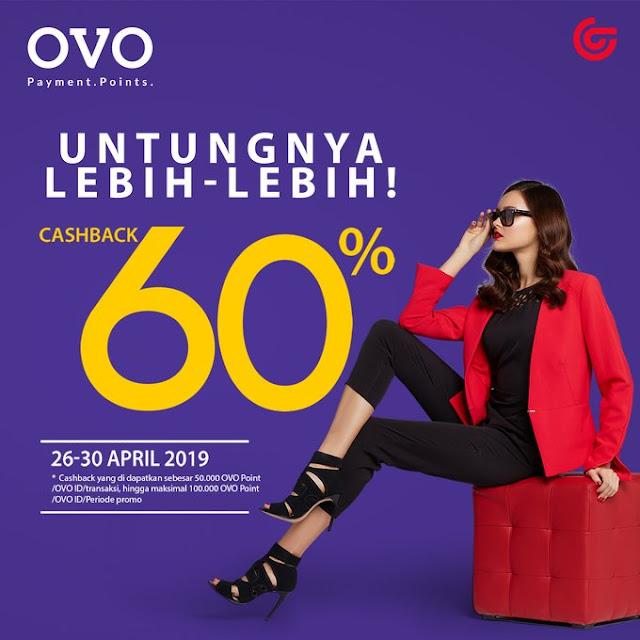 #Matahari - #Promo Cashback 60% Bayar Pakai OVO (s.d 30 April 2019)