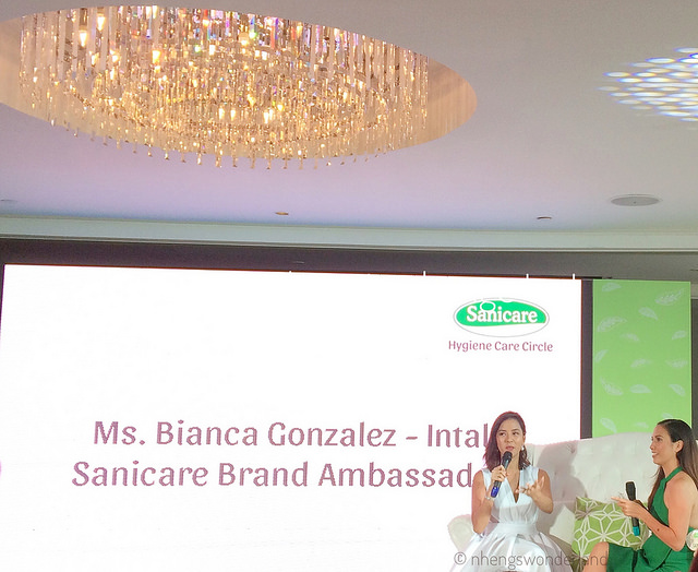 Bianca Gonzales-Intal On Sanicare