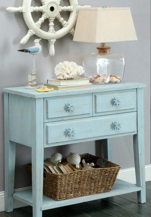 Nautical Console Table