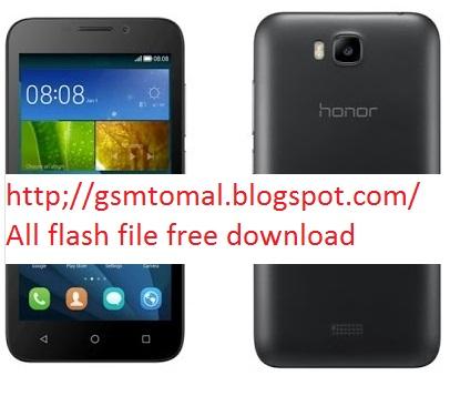 Honor y541 u02 firmware download