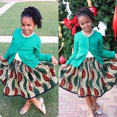 trendy ankara skirts for kids, Ankara Gowns And Flare Skirt For Kids, ankara gowns for little girls, new ankara for kids styles