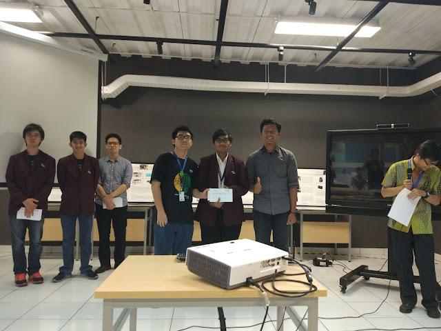 Alumni Elektro Dipercaya Menjadi Juri diajang Lomba Kreatifitas Mahasiswa di Kampus BINUS ASO Tangerang
