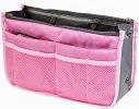 Image: World Pride Nylon Handbag Insert Comestic Gadget Purse Organizer