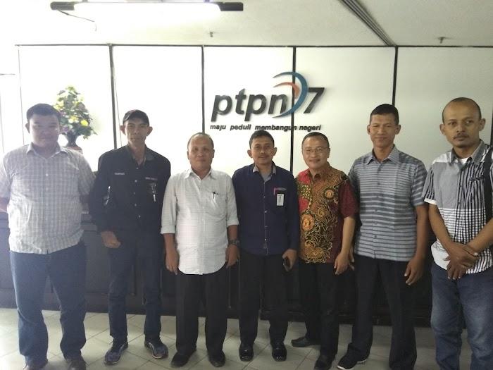 PTPN7 Siap Jalin Kerja Sama Dengan Jaringan Media Online (JAMO) Lampung