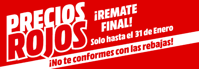 Mejores ofertas folleto Precios Rojos, ¡Remate final! de Media Markt