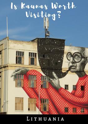 Pinterest Pin: Is Kaunas worth visiting? #Lithuania