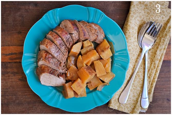 porco batata doce como fazer