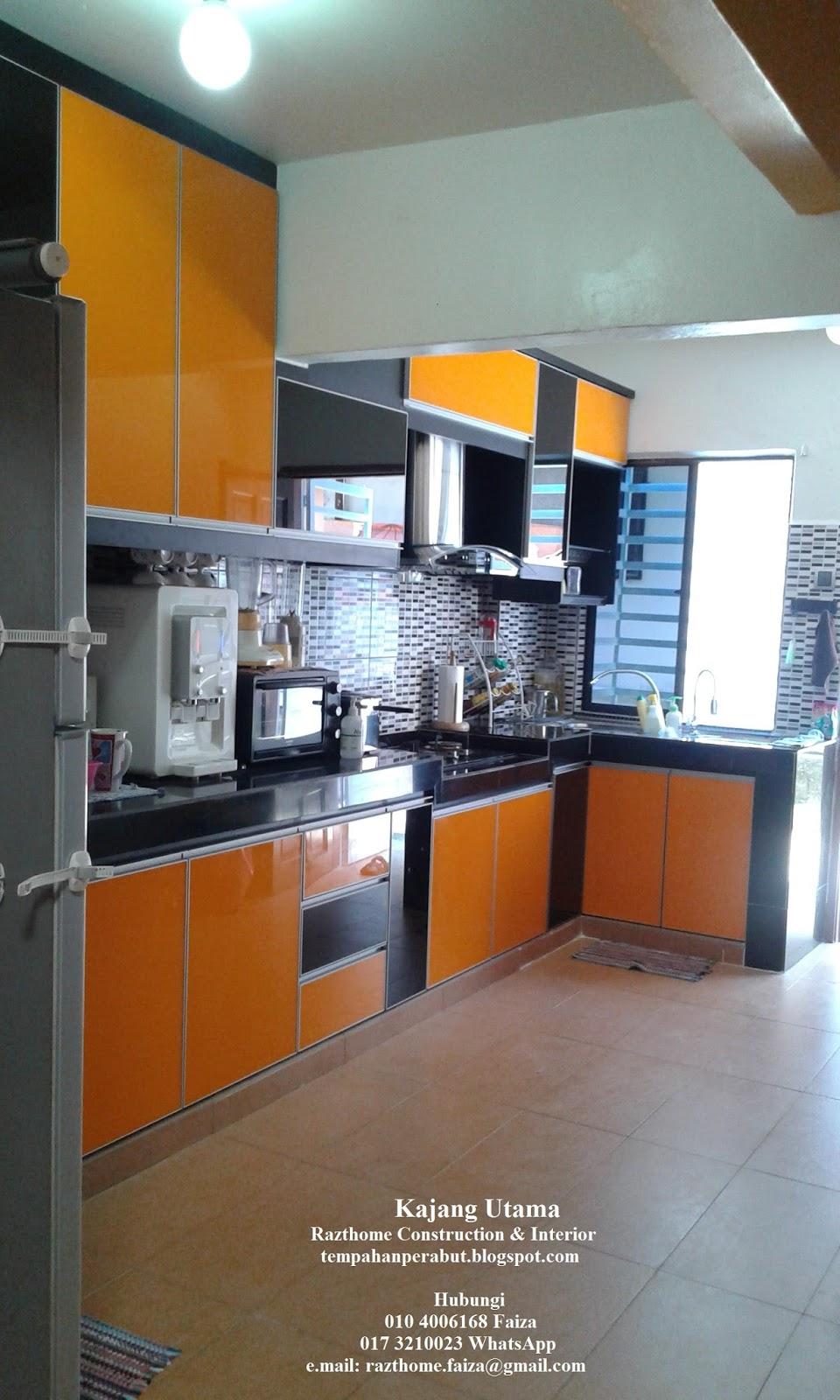 Kabinet Dapur Oren Desainrumahid Com