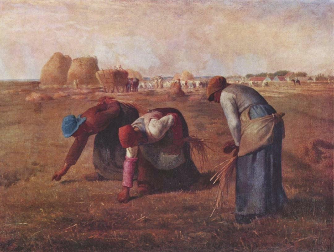 As Respigadeiras - Millet, Jean-Francois e suas principais pinturas | Realismo