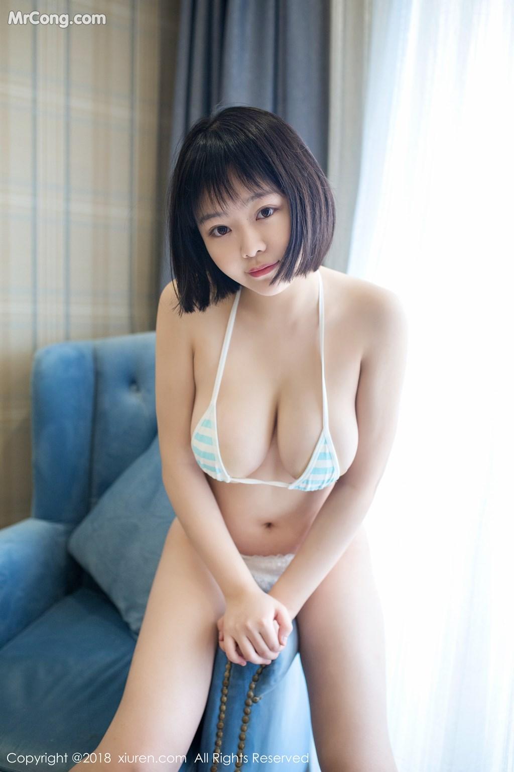 Image XIUREN-No.889-MrCong.com-006 in post XIUREN No.889: Người mẫu 赤间菀枫 (49 ảnh)