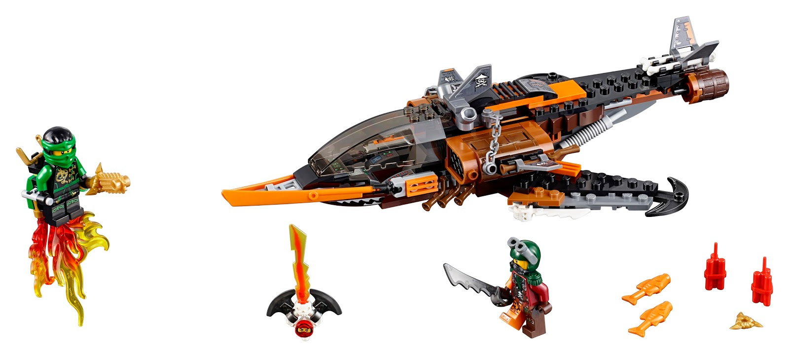 The Brick Bucket Thoughts On March 2016 Ninjago Sets Lego 70605 Misfortunes Keep Despite Slightly Smaller Piece Count I Think This Set Is Far Superior To Previous One Which Shares Its Price Point 70601 Has A Better Selection Of