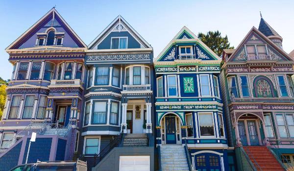 Victorian Houses di San Fransisco