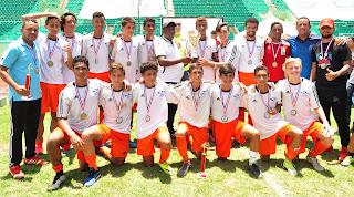 DN golea 5-0 a Nagua y se corona campeón nacional infantil de fútbol