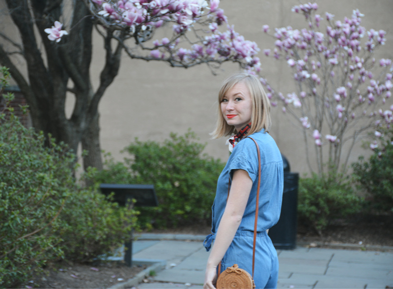 Spring Staple: A Chambray Jumpsuit