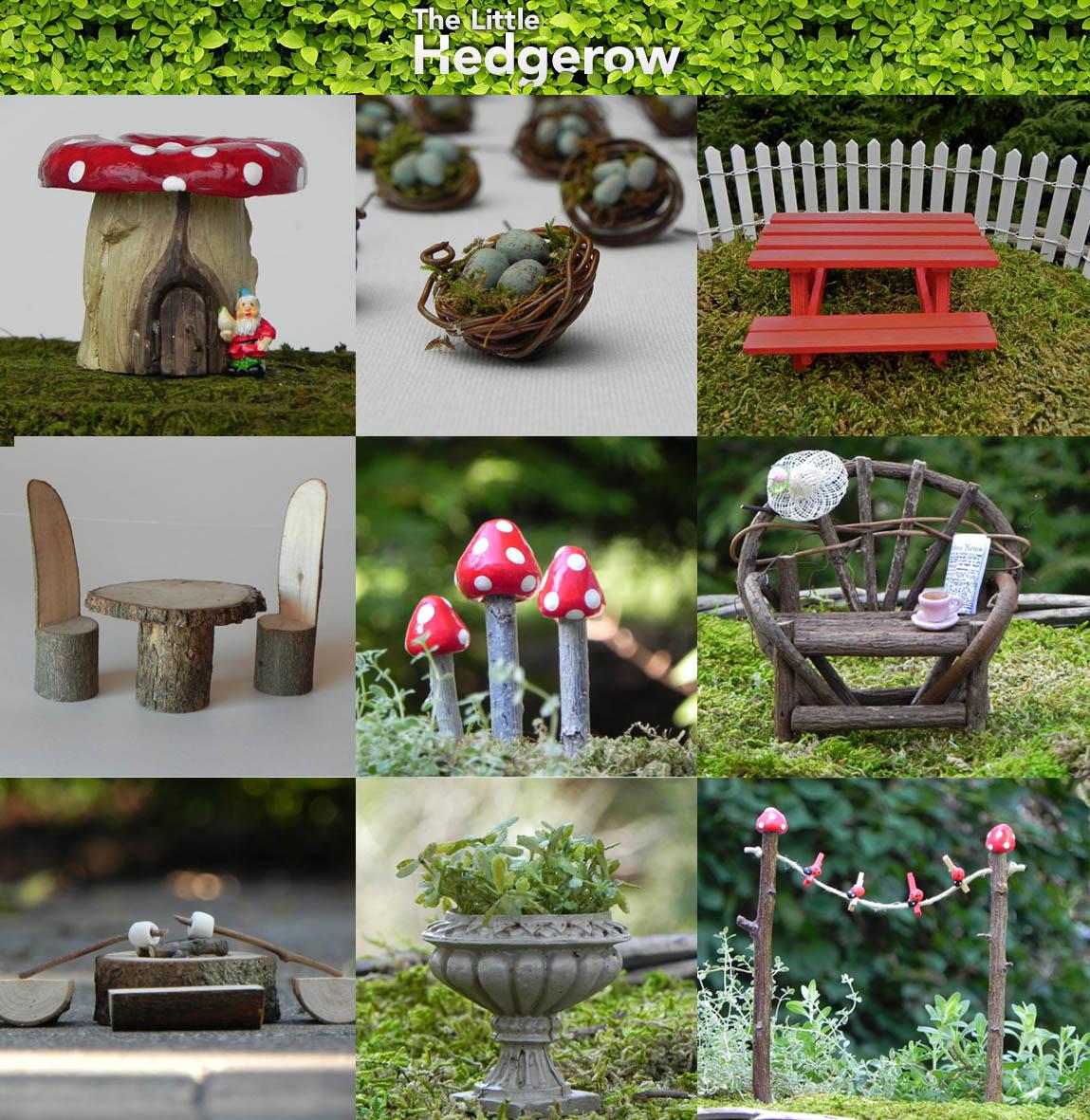 Gnome Garden: The Green Gardener: Fairy Gardens