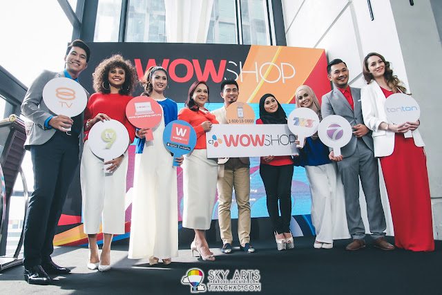 CJ WOW SHOP Official Launch @ Cantaloupe, The Troika From Left to Right: Zaim Helmi Zaini, Fiza Frizzy, Sarah Ismail, Maria Tunku Sabri, Chef Fikree Aznan, Liza Khairudin, Ameera Zaini, Karl Shafek and Nadia Annuar.
