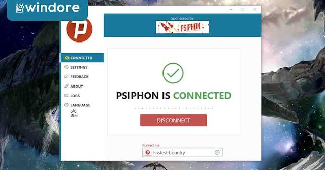 Koneksi Psiphon Berhasil Internet Gratis