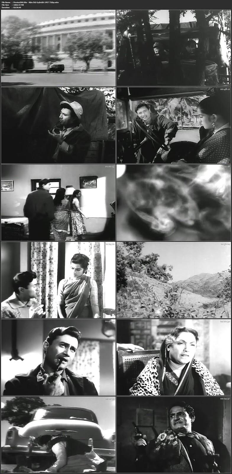 Nau Do Gyarah 1957 Hindi Movie DVDRip 720p ESubs