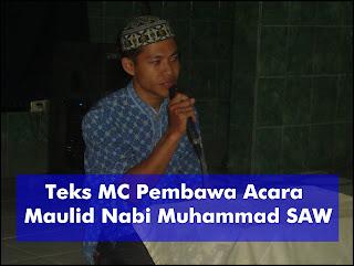 Contoh Naskah MC Bahasa Jawa Peringatan Maulid Nabi