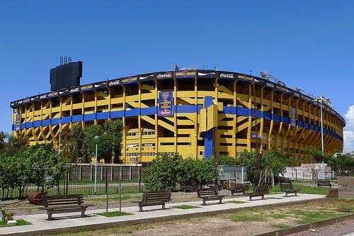 La Bombonera em Buenos Aires
