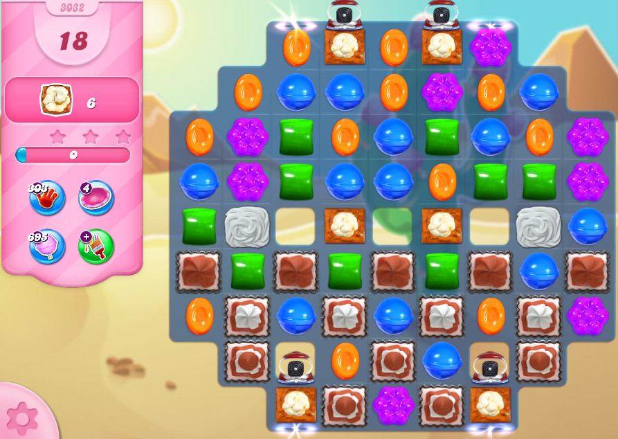 Candy Crush Saga level 3032
