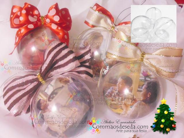 Lindas Bolinhas de Natal para sua Árvore