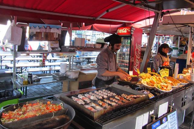 Noorwegen markt in Bergen