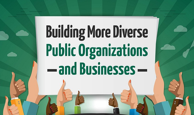 Building More Diverse Public Organizations and Businesses
