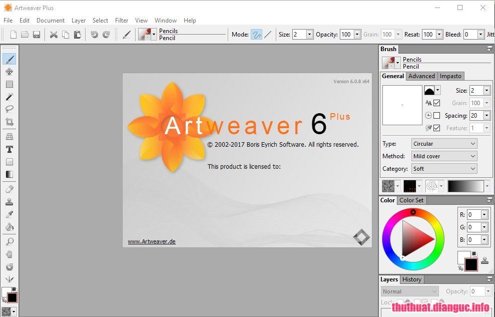 Download Artweaver Plus 6.0.10.14958 Full Cr@ck
