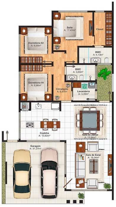 Spain Holidays Villas Floor Plan With 3 Bedrooms And 150