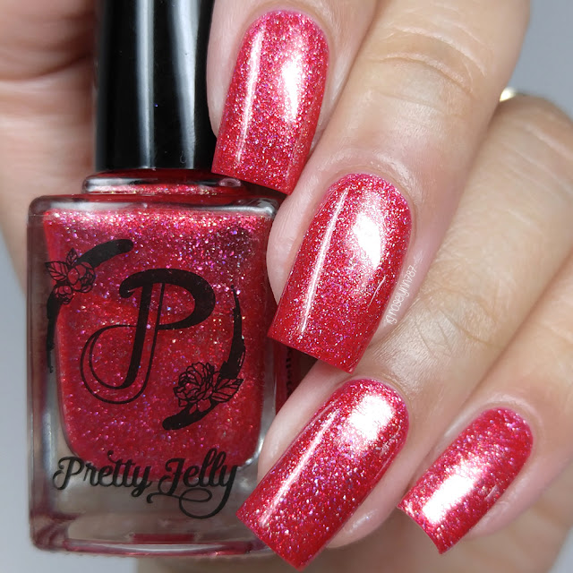 Pretty Jelly Nail Polish - Flower Hat