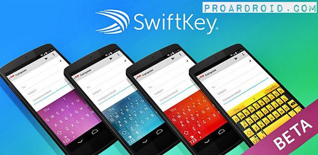 تطبيق لوحة مفاتيح SwiftKey Beta Apk نسخة كاملة للأندرويد مجانا logo