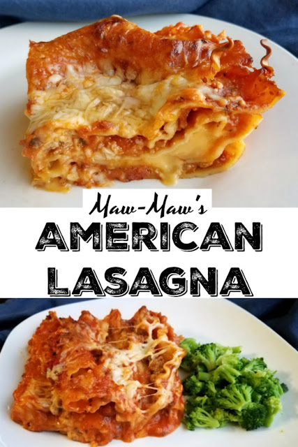 My Maw-Maw's lasagna has a few surprising ingredients that likely make it a bit different from the one you grew up with, but it is so delicious. You have to make some for dinner soon!