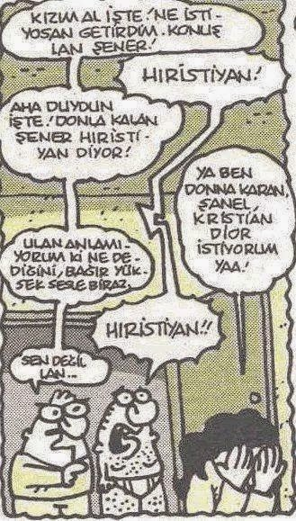 Karikatür donla kalan şener hıristiyan diyor Donna karan chanel christian dior