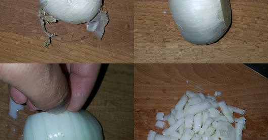 Quick and Easy Way to Dice an Onion - 4 Easy Steps