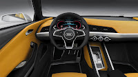 Audi Crosslane Coupe Concept interior 1