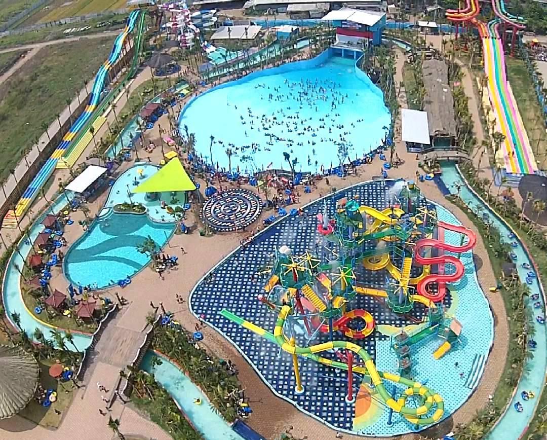... Water Park, Malang.   Tempat Wisata 'Water Boom' di Indonesia