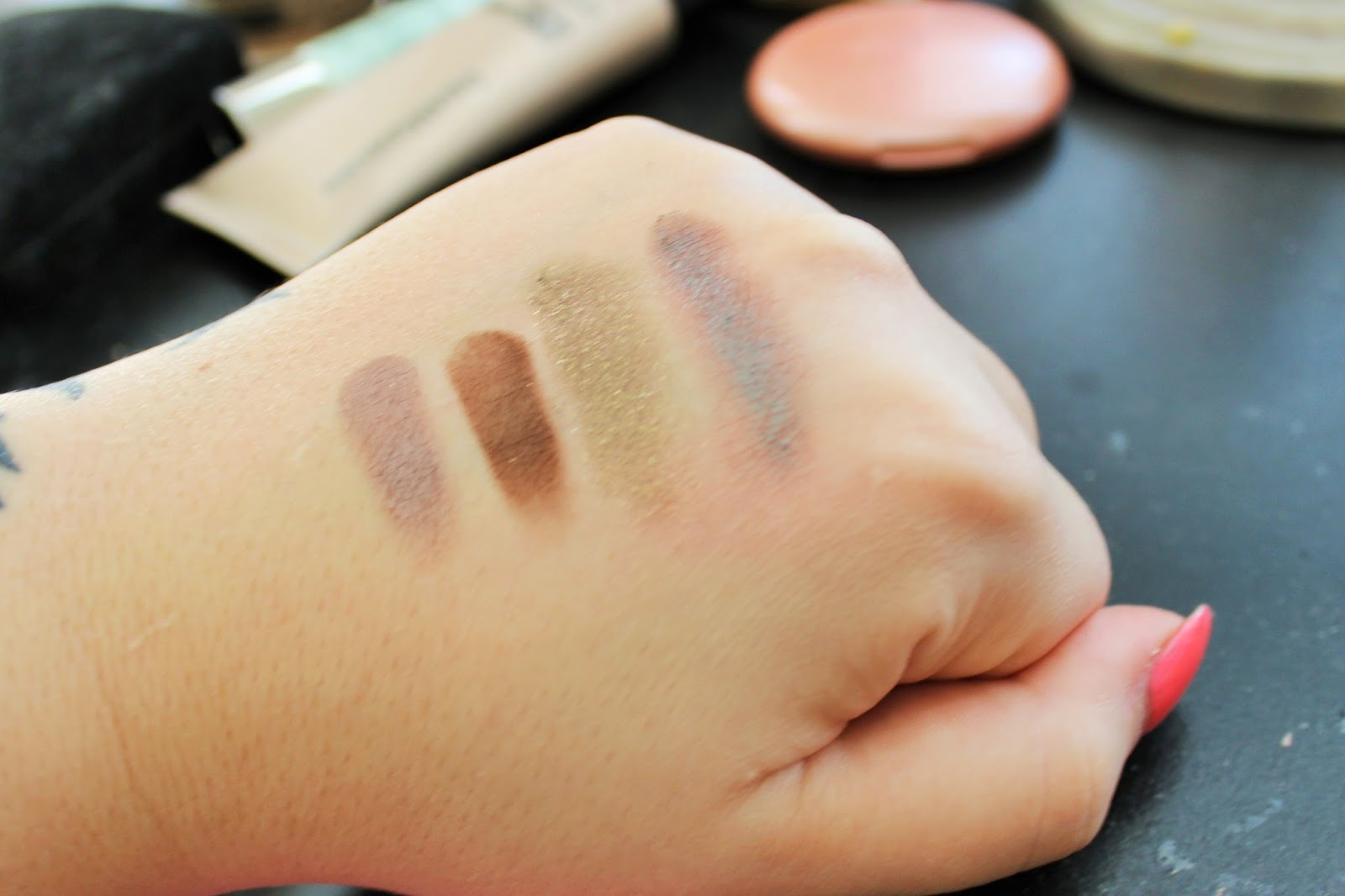 makeup geek swatches