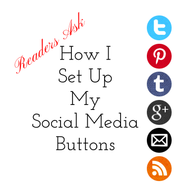 Code it Pretty: Readers Ask: How I Set Up My Social Media
