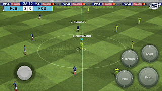 PES 2019 Mobile Android New Graphics Patch Latest Kits Update