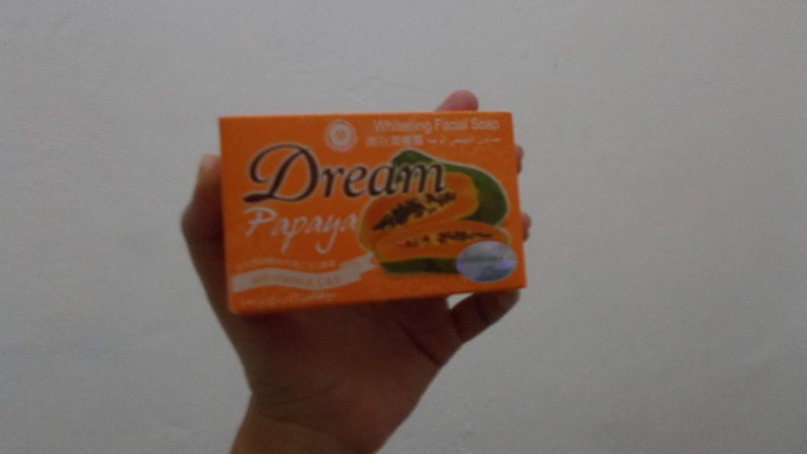 Celoteh Bodoh Review Sabun Pepaya Merk Dream Yang Katanya Bisa Memutihkan