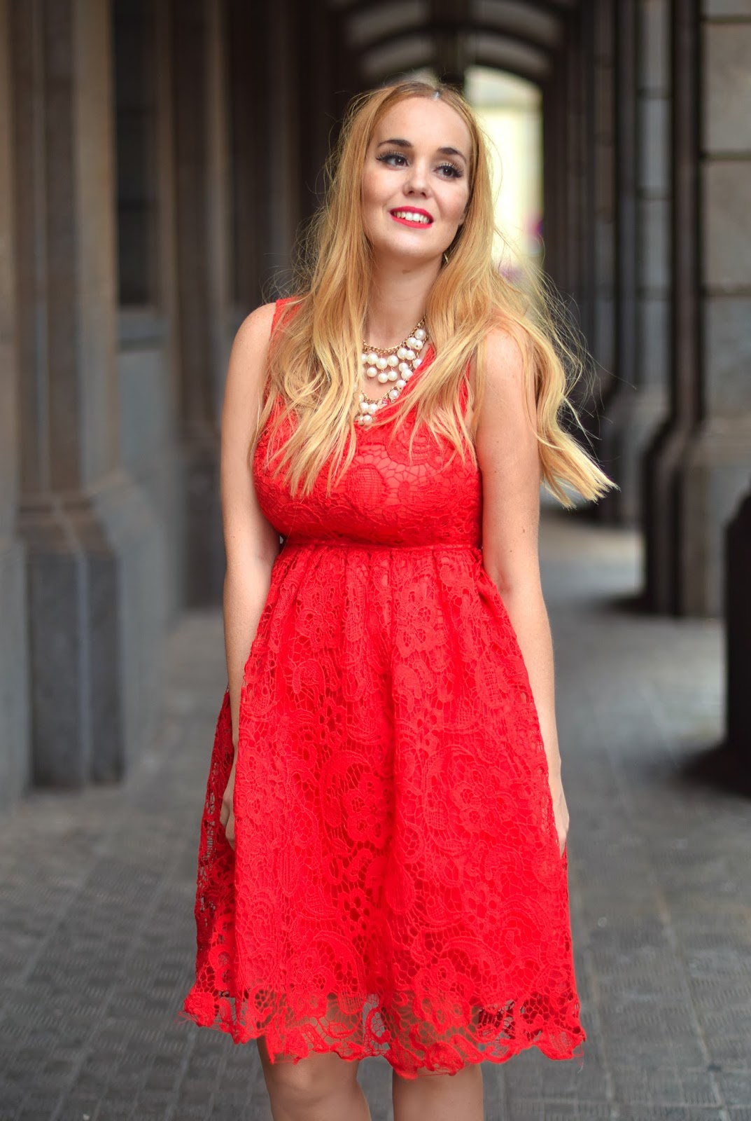 nery hdez, sammydress, lace red, outfit for christmas, look para navidad