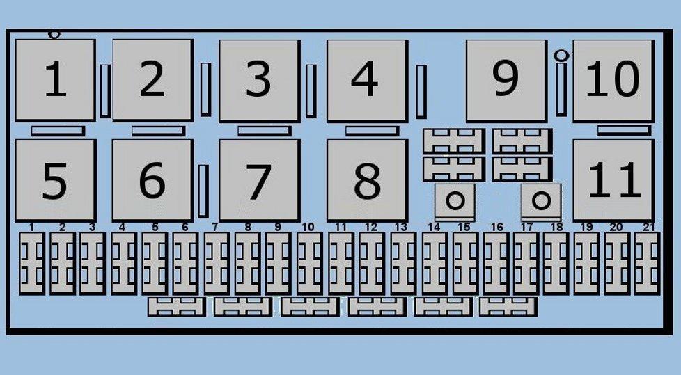 Audi 5000 Fuse Box - Wiring Diagram Progresif
