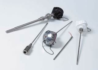 Variety of electrical temperature sensors